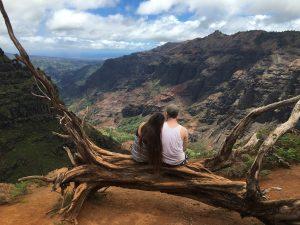 Tropical Oahu Canyon engagement