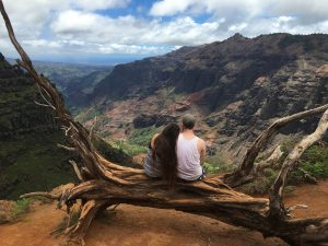 Tropical Oahu Canyon engagement